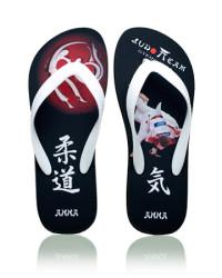 Custom judo flip flops