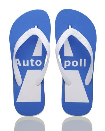 17. Wholesale Custom Flip Flops