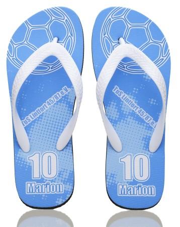 19. Custom Printed Flip Flops