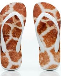 Flip Flops Animal Skin