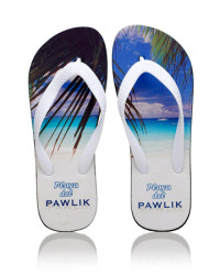 custom print flip flops