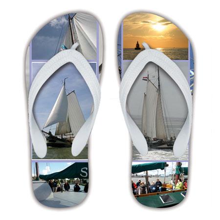 Sailing Photo Thong Sandals