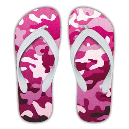 Pink Girls Flip Flops