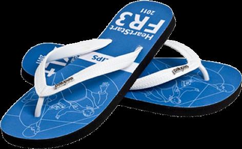 Custom Logo Flip Flops for Companies